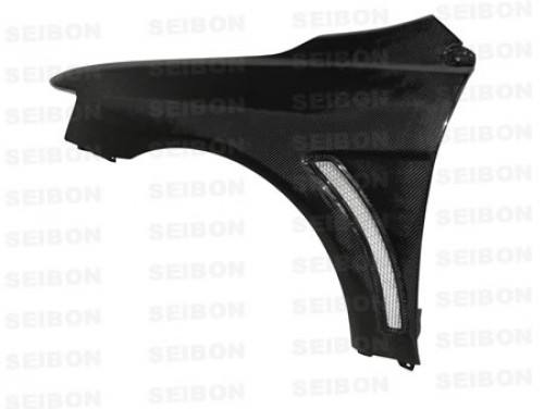 Carbon fiber fenders for 2008-2012 Mitsubishi Lancer EVO X (10mm Wider) (pair)