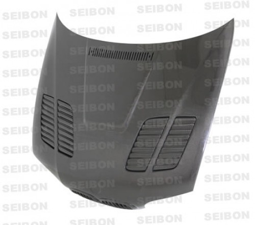 GTR-STYLE CARBON FIBER HOOD FOR 2001-2006 BMW E46 M3