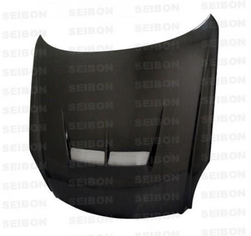 JS-style carbon fiber hood for 2003-2007 Infiniti G35 2DR