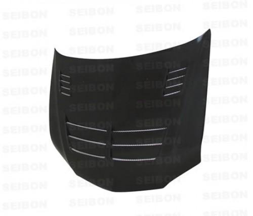 TS-style carbon fiber hood for 2003-2007 Mitsubishi Lancer EVO