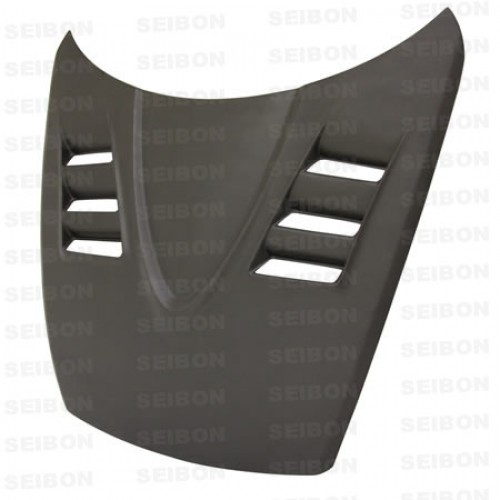 TS-style DRY CARBON hood for 2004-2008 Mazda RX8..*ALL DRY CARBON PRODUCTS ARE MATTE FINISH!