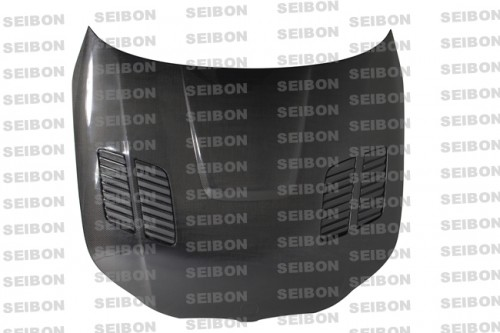 GTR-style carbon fiber hood for 2004-2010 BMW E60