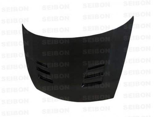 TS-style carbon fiber hood for 2006-2010 Honda Civic 4DR JDM / Acura CSX