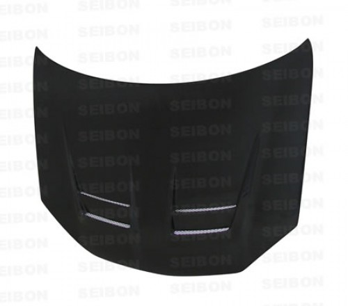 DV-style carbon fiber hood for 2006-2009 VW Golf GTI (Shaved)