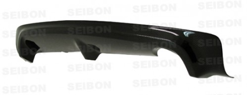 MG-style carbon fiber rear lip for 2006-2010 Honda Civic 4DR JDM / Acura CSX