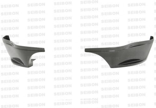 SR-style carbon fiber rear lip for 2009-2010 Nissan 370Z