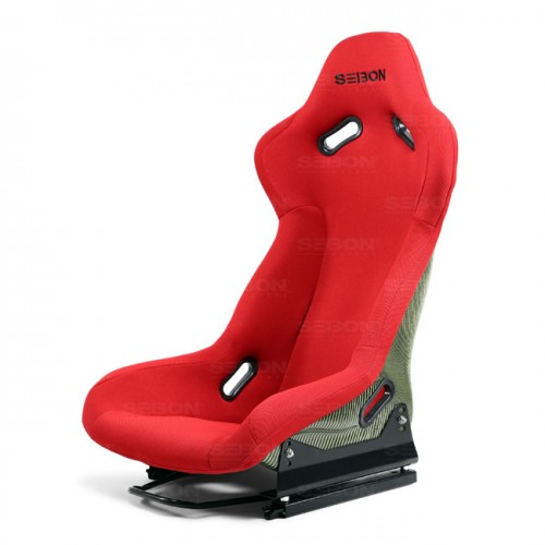 Carbon Kevlar Bucket Racing Seat - Red