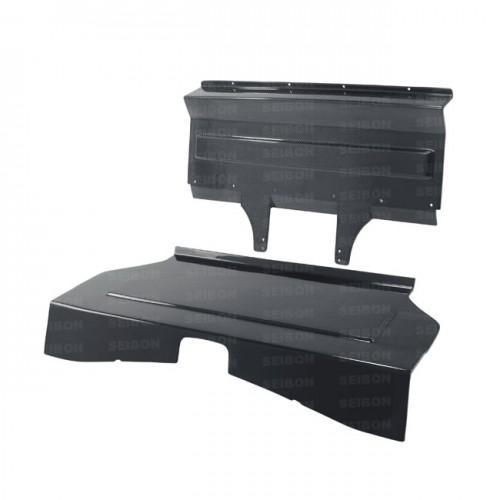 CARBON FIBER REAR SEAT PANELS FOR 2013-2017 TOYOTA GT86 / SUBARU BRZ