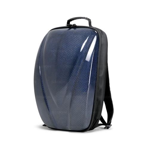 Carbon Fiber Hard Shell Backpack - Blue