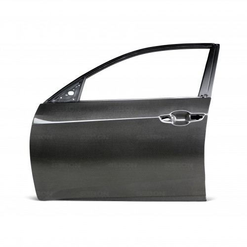 CARBON FIBRE DOOR FOR 2017-2019 HONDA CIVIC HATCHBACK - Front*