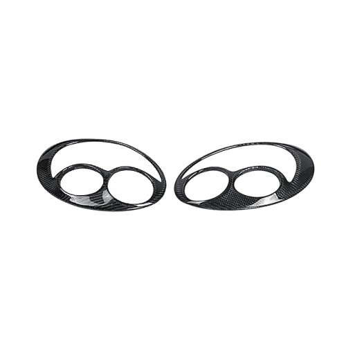 CW-STYLE CARBON FIBER EYEBROWS FOR 2002-2003 SUBARU IMPREZA / WRX