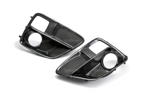 CARBON FIBER FOG LIGHT SURROUND FOR 2015-2017 SUBARU WRX / STI
