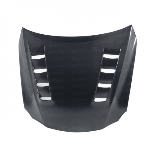 TSII-style carbon fiber hood for 2006-2012 Lexus IS250/350/C