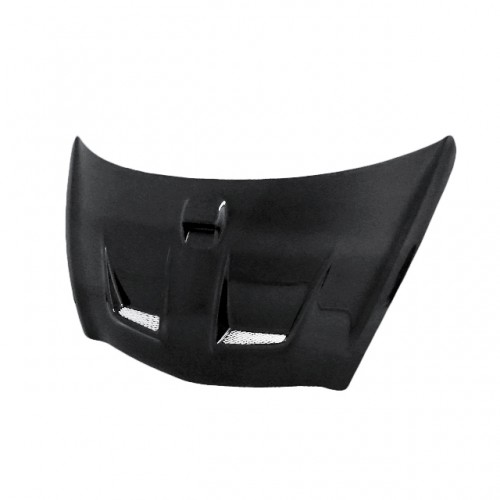 MG-Style Carbon Fiber Hood for 2007-2008 Honda Fit (Straight Weave)