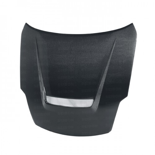 VSII-style carbon fiber hood for 2007-2008 Nissan 350Z (also fits 2002-2006 models)