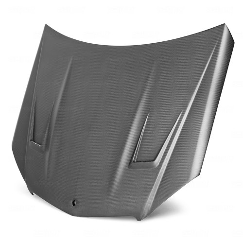 GT-STYLE DRY CARBON HOOD FOR 2008-2011 MERCEDES-BENZ C63 AMG*