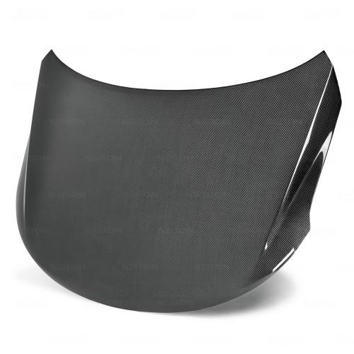 OEM-style carbon fiber hood for 2009-2010 Kia Forte
