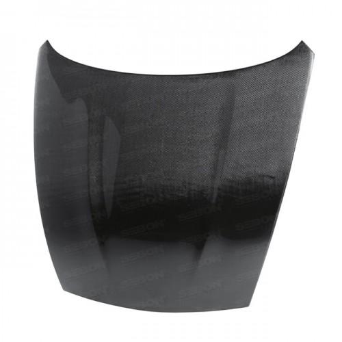 OEM-style carbon fiber hood for 2009-2014 Nissan 370Z