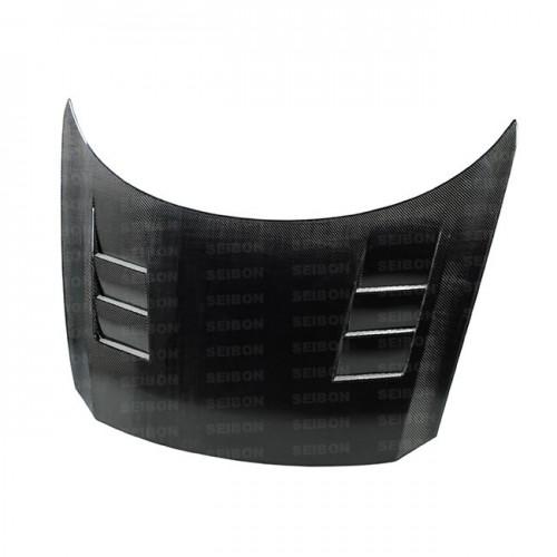 TS-style carbon fiber hood for 2011-2012 Honda CR-Z