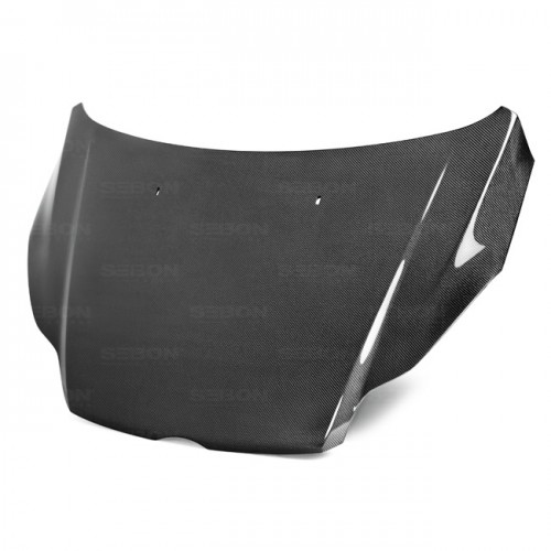 OEM-Style Carbon Fiber Hood for 2012-2014 Ford Focus