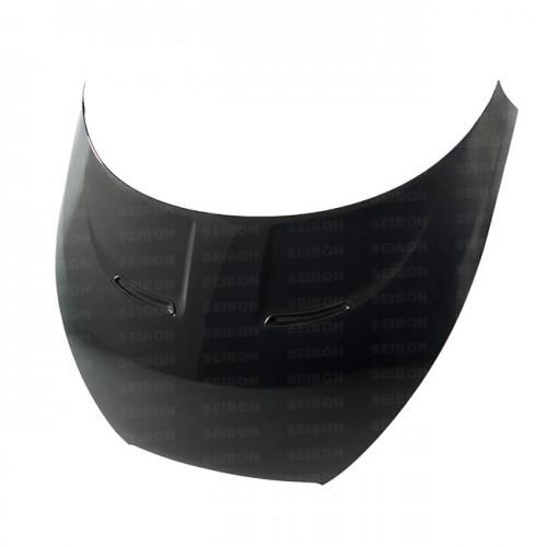 OEM-style carbon fiber hood for 2012 Hyundai Veloster