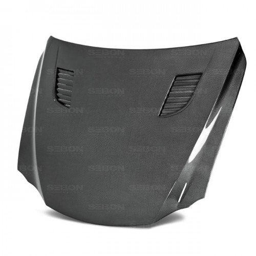 TV-Style Carbon Fiber Hood for 2014-2016 Lexus IS