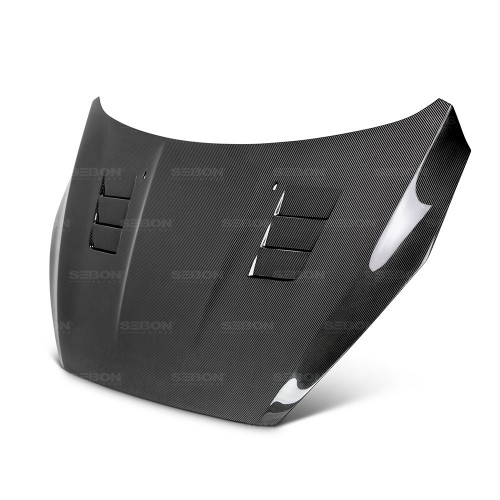 TS-STYLE CARBON FIBER HOOD FOR 2015-2017 FORD FOCUS