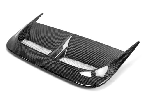CW-STYLE CARBON FIBER HOOD SCOOP FOR 2002-2003 SUBARU IMPREZA WRX