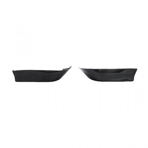MG-Style Carbon Fiber Rear Lip for 1997-2001 Honda Prelude (Straight Weave)