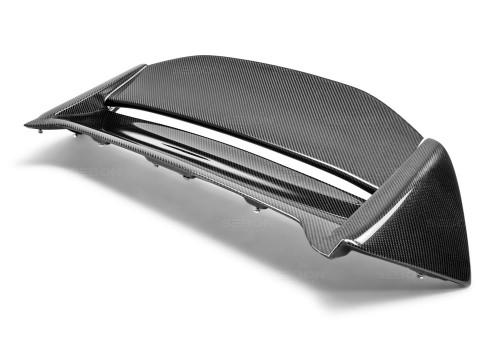 MG-style carbon fiber rear spoiler for 2002-2005 Honda Civic Si (JDM)