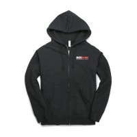 SEIBON CARBON ESTABLISH 03 FULL-ZIP HOODIE - Black